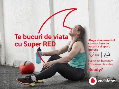 Abonații Vodafone primesc suport personalizat, o opțiune specială de roaming, reduceri la călătorii și activități de relaxare, cu noua ofertă Super RED