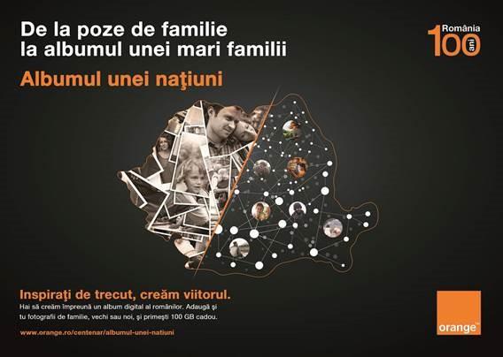 Orange lansează Albumul unei națiuni și oferă 100 GB cadou