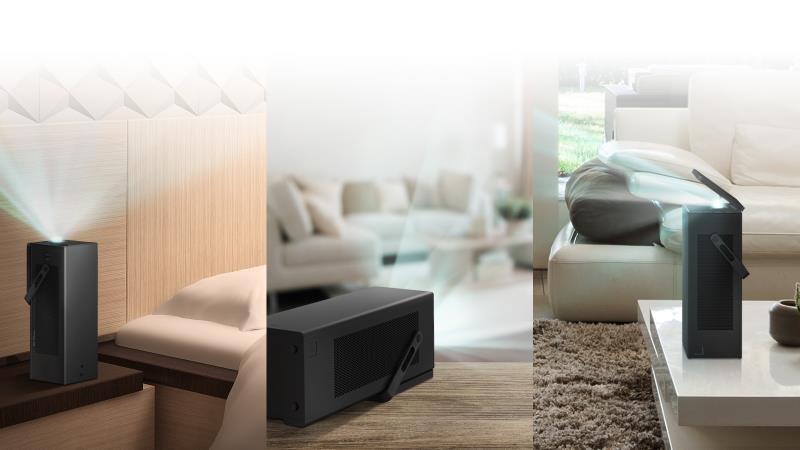 Experiența cinematografică de acasă cu cel mai nou proiector LG 4K CineBeam