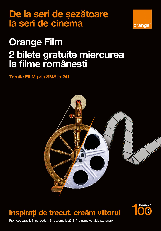 Filme românești gratuite la cinematograf prin Orange Film