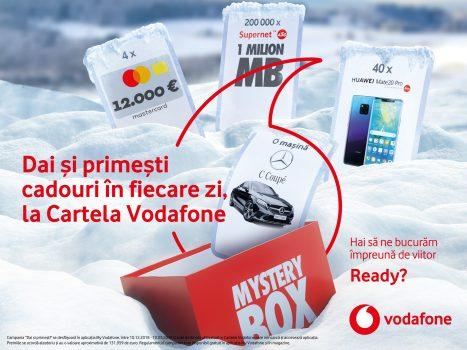 Premii pentru utilizatorii Cartelei Vodafone