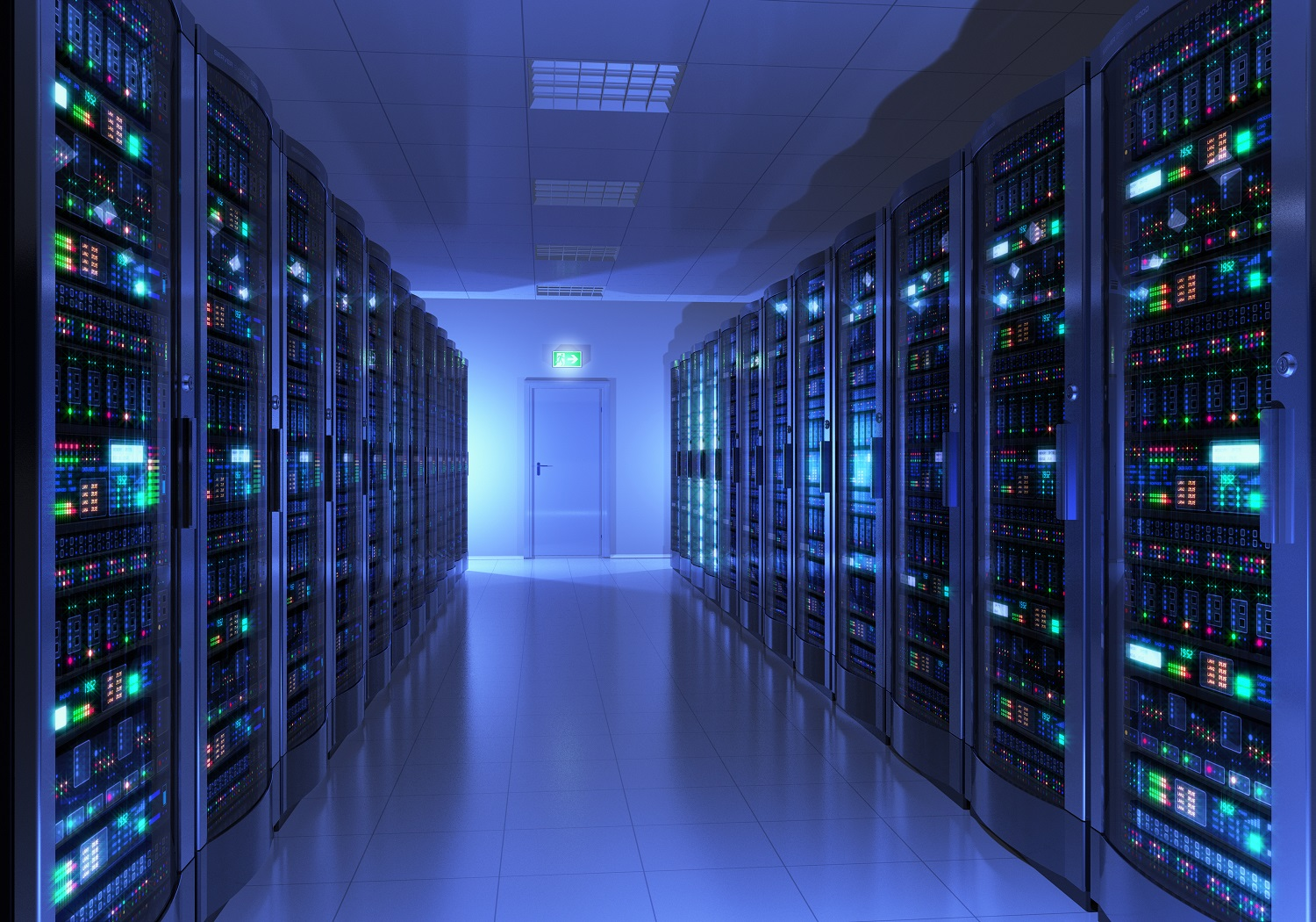 Data Center space racks