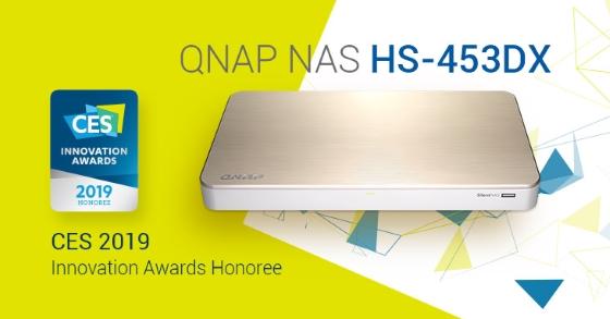 QNAP SilentNAS a fost premiat pentru designul remarcabil în cadrul CES 2019 Innovation Awards