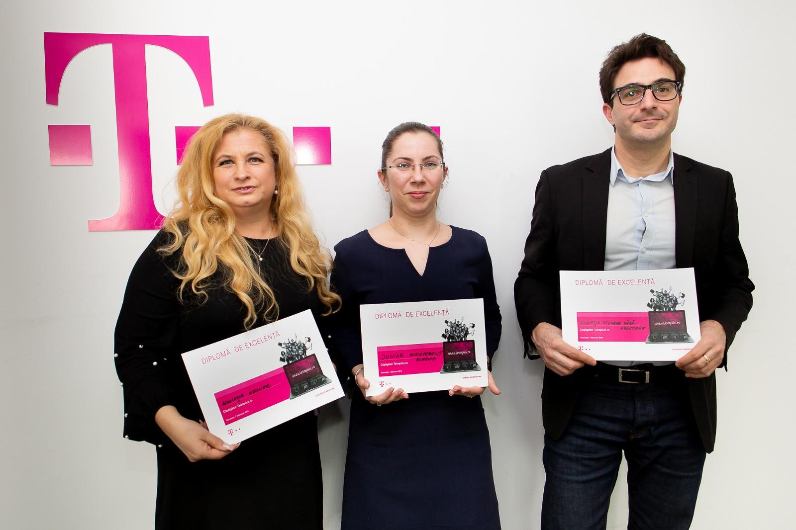 Telekom Romania oferă finanțări în valoare de 60.000 de euro pentru câștigătorii concursului de proiecte Teimplici.ro , ediția 2018