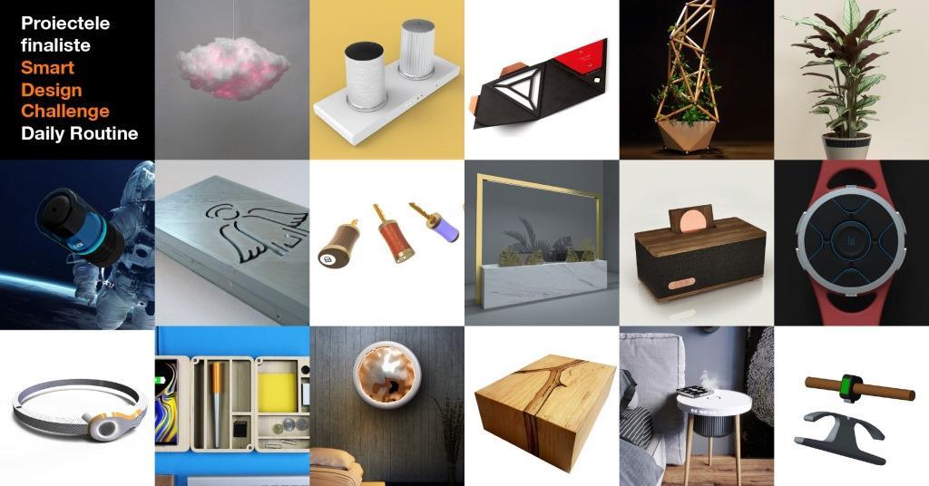 Obiecte de design expuse în Orange smart shops