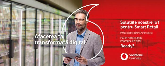 Soluții Vodafone de ultimă generație pentru industria de retail