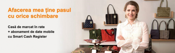 Orange oferă case de marcat cu jurnal electronic pentru IMM-uri