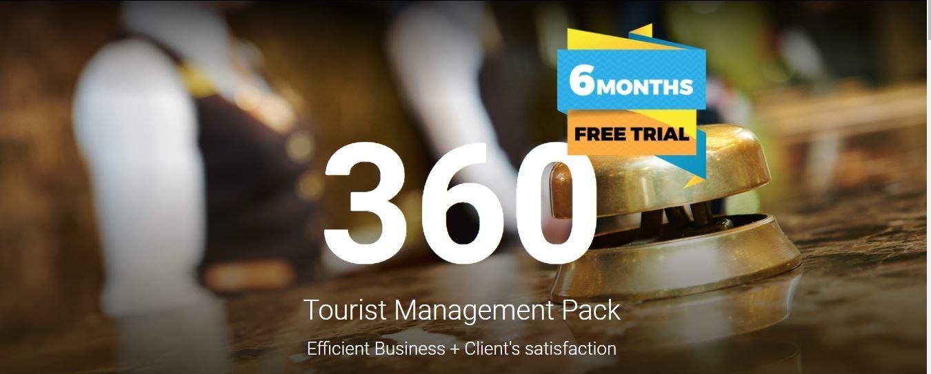 360 Tourist Management Pack: gestiune completă pentru hoteluri și pensiuni