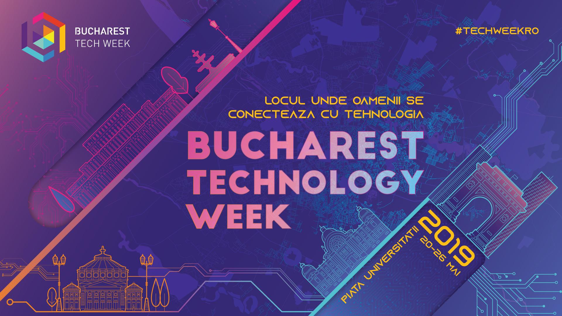Festivalul Bucharest Tech Week pentru al patrulea an consecutiv