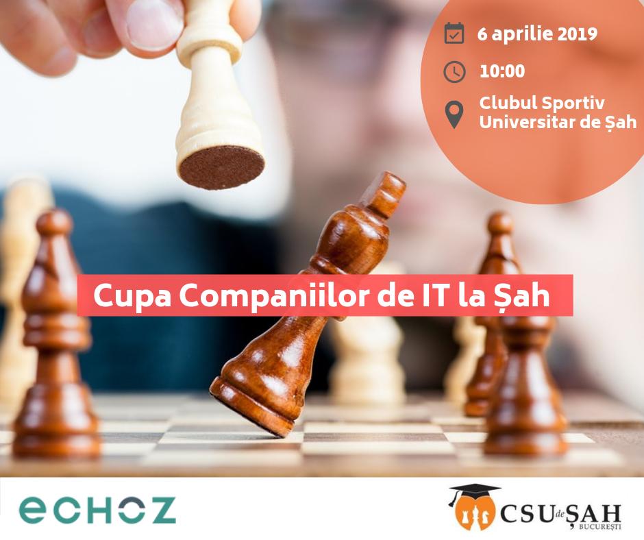 Au început înscrierile la Cupa Companiilor de IT la Șah!
