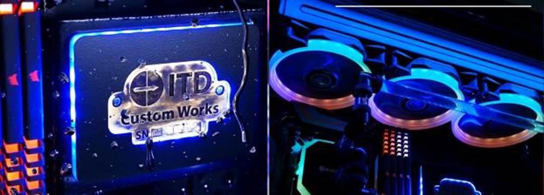 ITD Custom Works oferă pasionaților de gaming 4 sisteme performante, complet customizabile