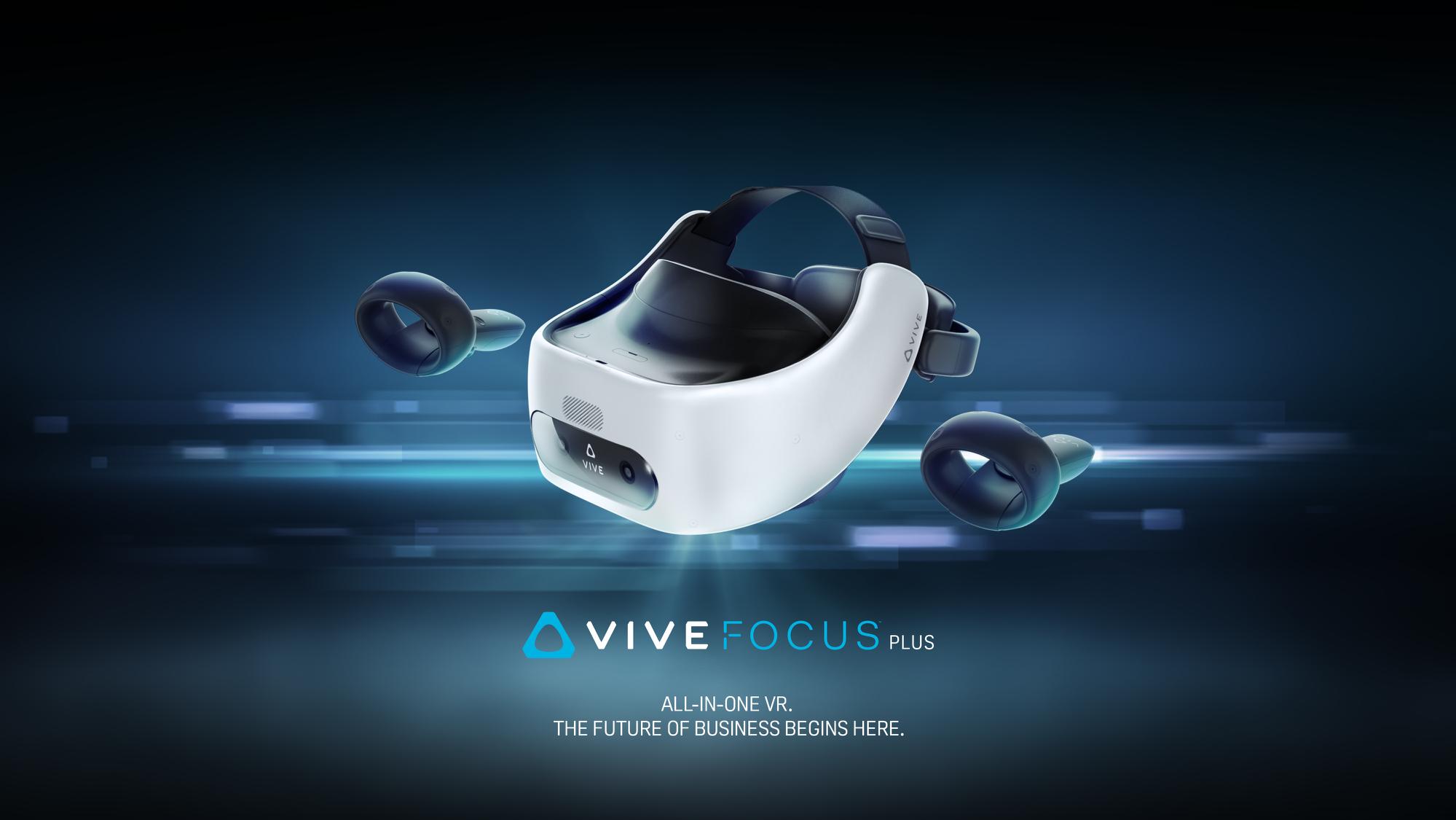 HTC VIVE: preț, disponibilitate, conectivitate și lentile optimizate pentru headset-ul VIVE FOCUS PLUS