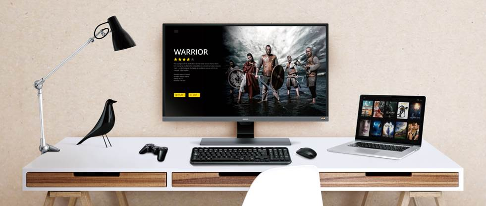 BenQ EW3270U, un nou monitor 4K pentru divertisment
