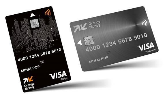 Orange Money lansează carduri de debit Visa și noi modalități de plată contactless, cu smartphone și smartwatch