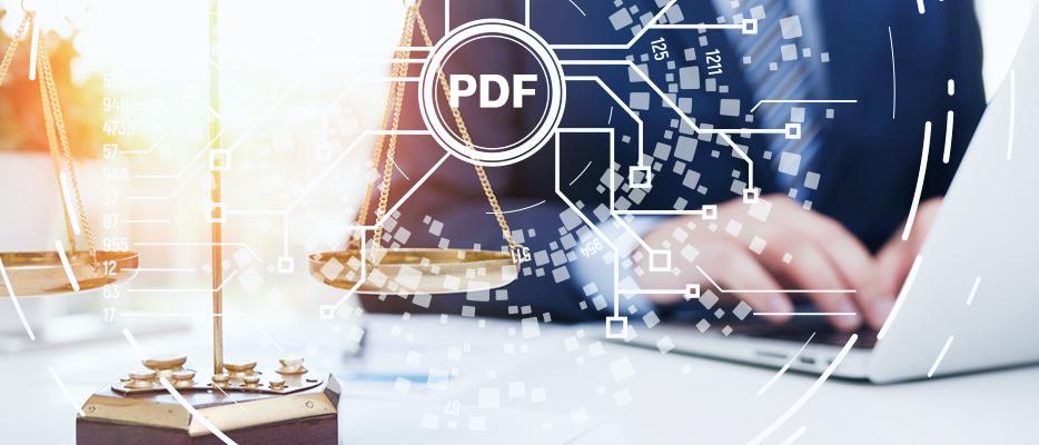 Soluții pentru documente PDF complete în cadrul companiilor de avocatură