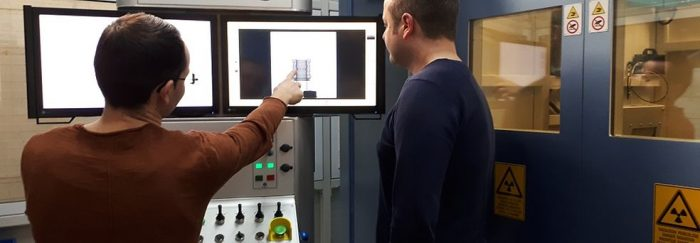 Tomograf industrial la fabrica Continental din Timișoara