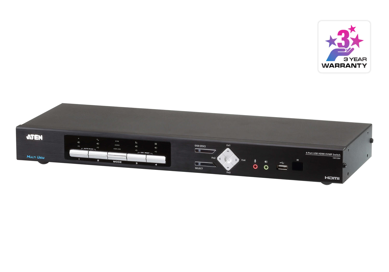 Noul switch KVMP 4K de la ATEN pentru operatiuni multi-view