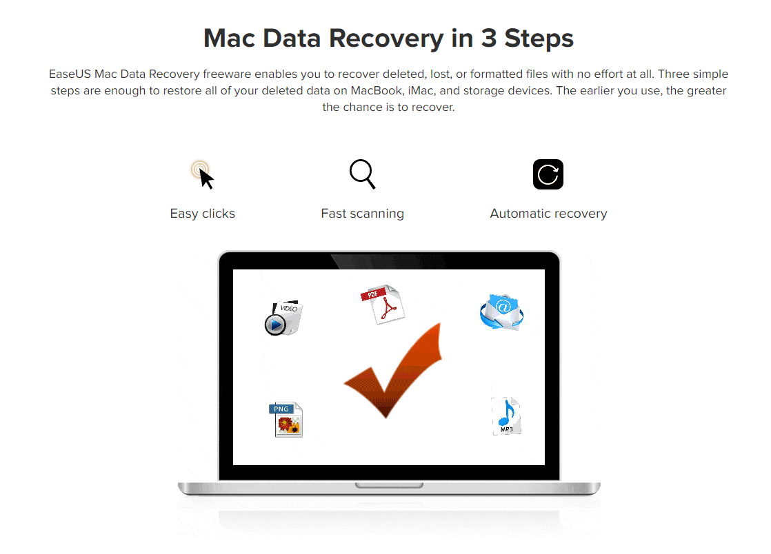 For Mac - EaseUS Data Recovery Wizard