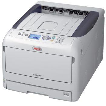OKI extinde fluxurile de venit pentru clienții Pro8432WT White Toner Printer cu adăugarea de toner negru interschimbabil