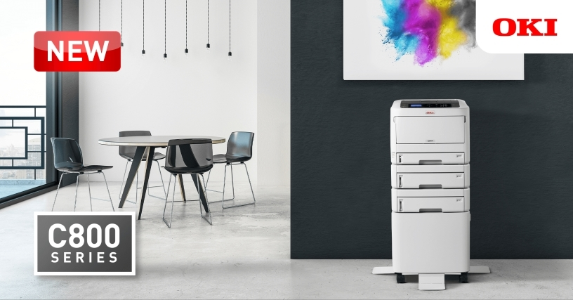 OKI duce imprimarea color internă la nivelul următor cu cea mai mică imprimantă color A3 produsă vreodată