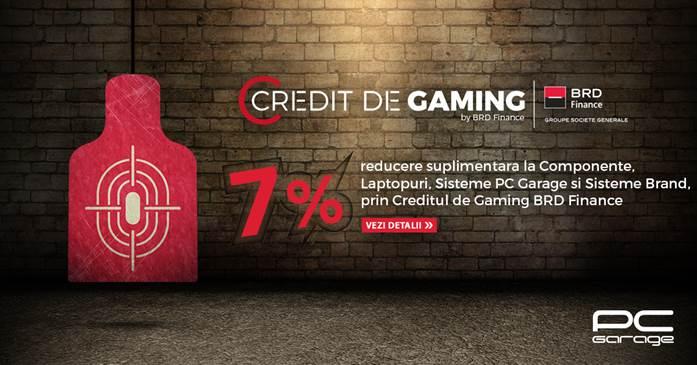PC Garage relansează Creditul de Gaming