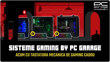 PC Garage oferă tastatură mecanică cadou la toate sistemele sale de gaming