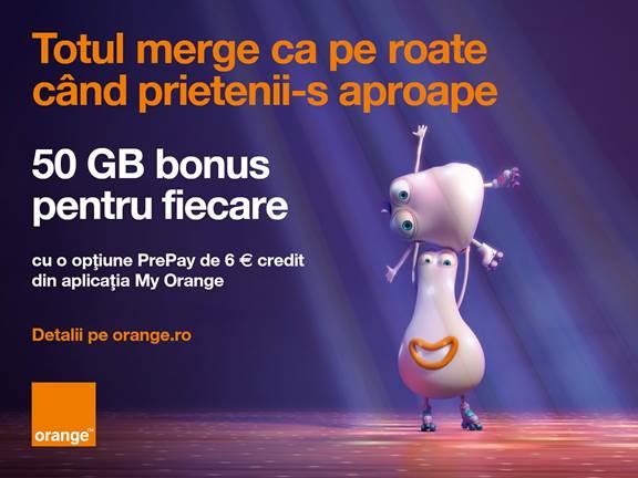 Noile opţiuni PrePay sărbătoresc prietenia cu internet bonus