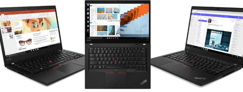 Lenovo își completează portofoliul Thinkpad cu trei noi dispozitive echipate cu procesoare AMD® Ryzen PRO