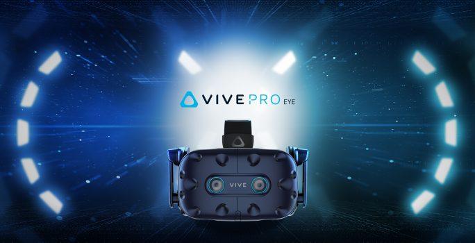 VIVE PRO EYE este lansat în Europa