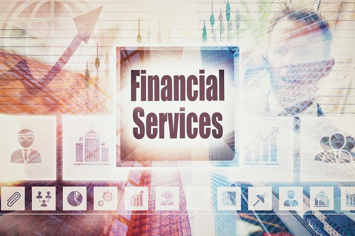Business Financial Services collage concept