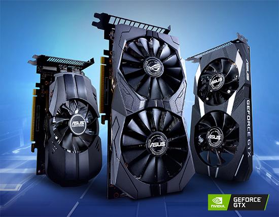 Plăcile grafice ASUS ROG Strix, Dual și Phoenix GeForce GTX 1650 sunt disponibile în România