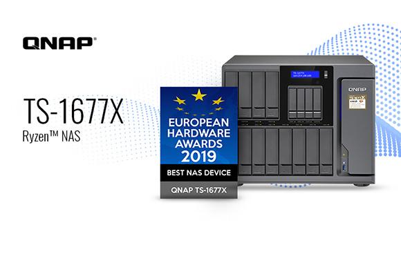 QNAP TS-1677X este cel mai bun NAS, conform European Hardware Awards 2019