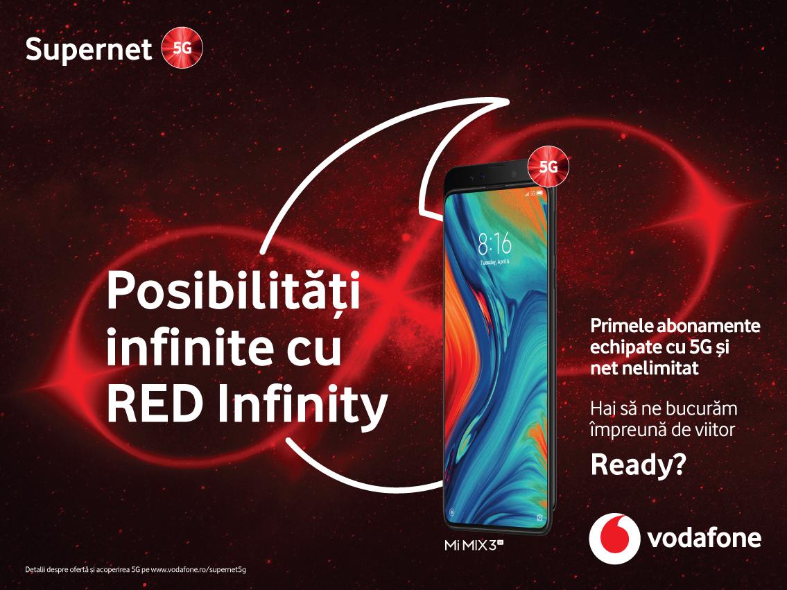 Vodafone lansează abonamente 5G