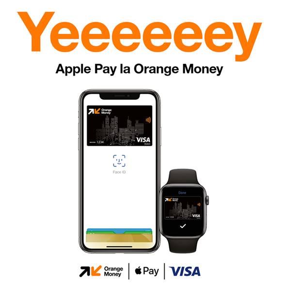 Apple Pay devine disponibil clienţilor Orange Money oferind o modalitate simplă, sigură şi digitală pentru a face plăţi