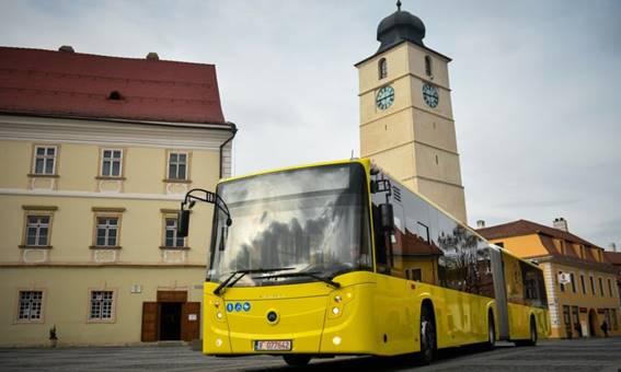 Wi-Fi gratuit în peste 100 de autobuze oferit de Continental Sibiu prin Orange România