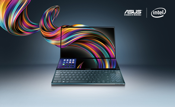 În premieră în Europa, ASUS prezintă la București noul ZenBook Pro Duo cu ScreenPad Plus