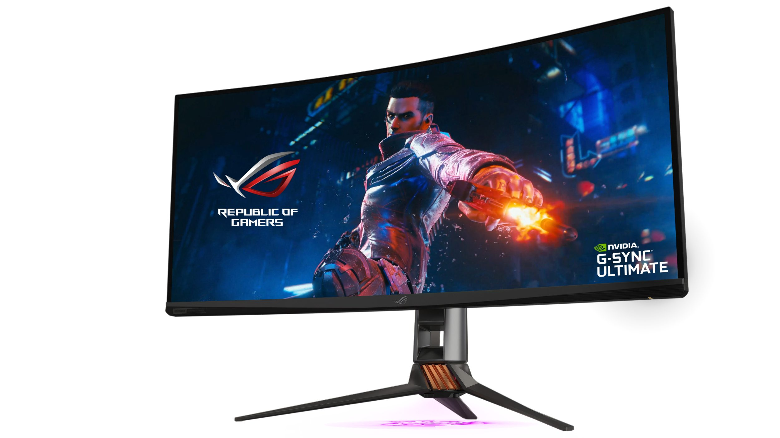 ASUS Republic of Gamers anunță noul monitor ROG Swift PG35VQ