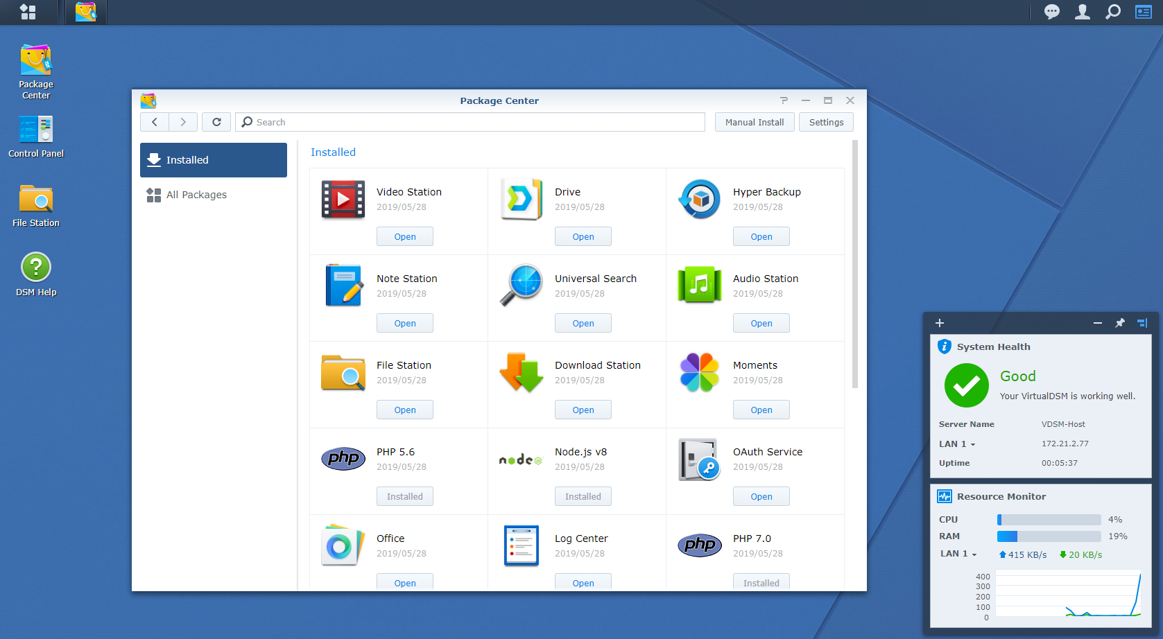 Synology lansează DiskStation Manager 6.2.2