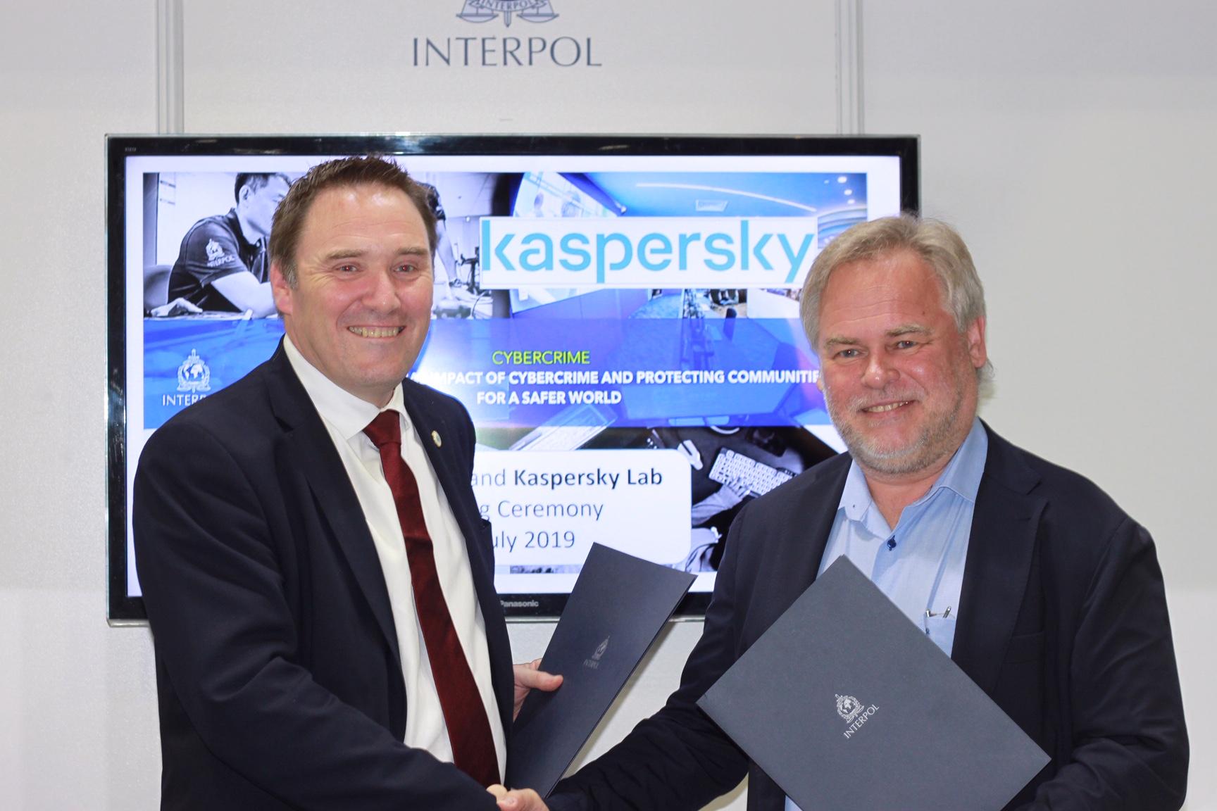 Kaspersky extinde cooperarea cu INTERPOL