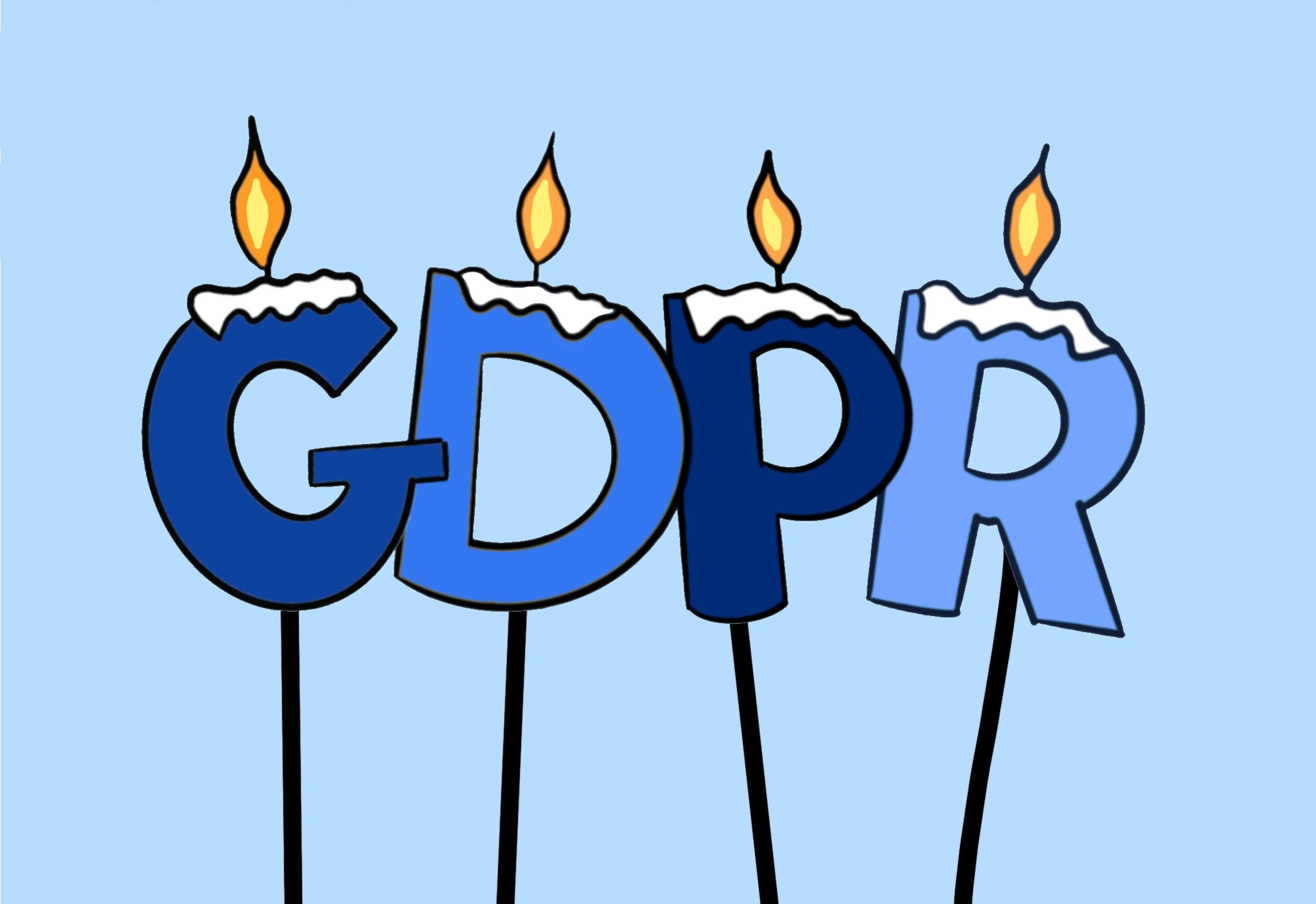 1 an de GDPR