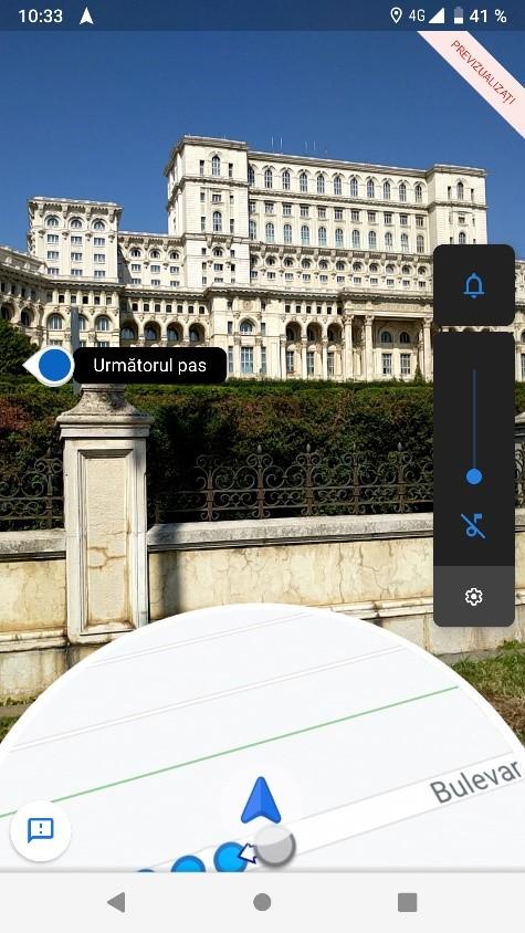 Nou în Google Maps: indicații de orientare prin realitatea augmentată