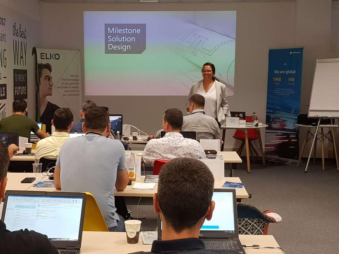 ELKO a organizat un curs Milestone de proiectare și administrare a sistemelor XProtect