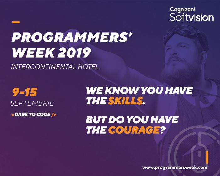 Programmers'Week – o săptămână dedicată programării