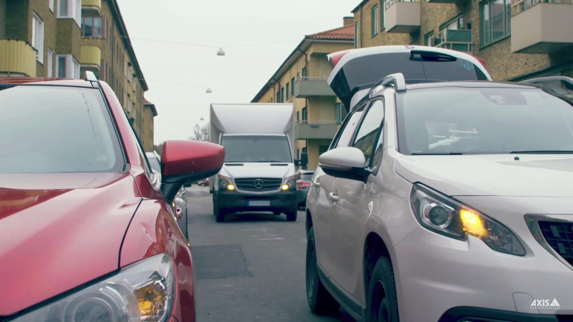Despre soluții urbane: AXIS Parking Violation Detection