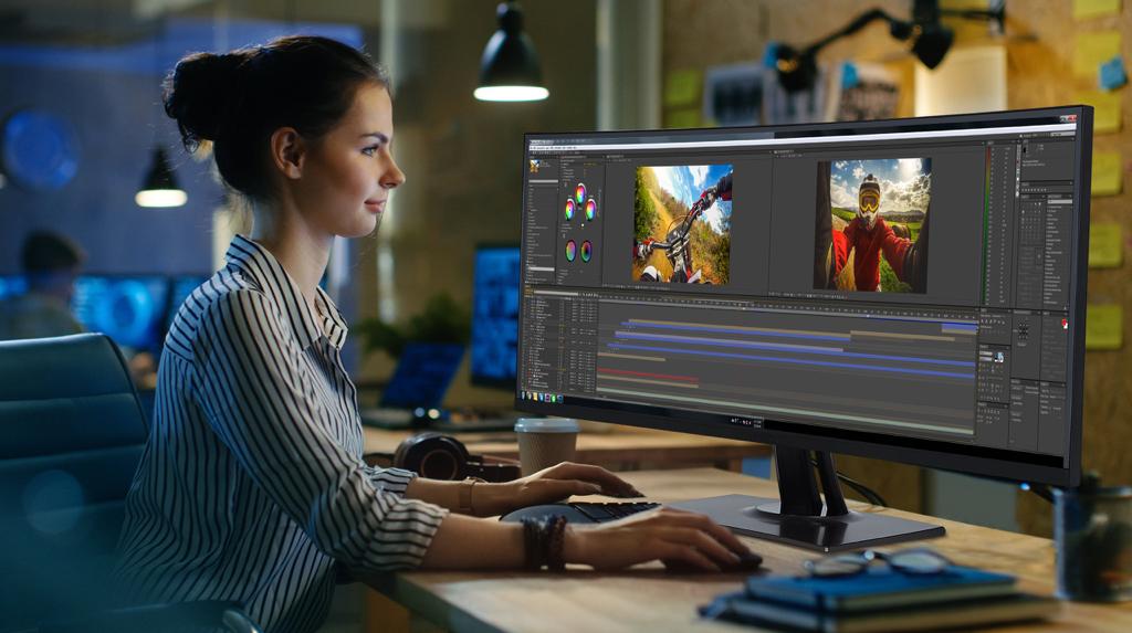 ViewSonic: acuratețe a culorilor excepțională și detalii incredibile cu noul monitor profesional VP3481 ColorPro