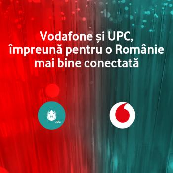 Vodafone Romania și UPC își unesc forțele