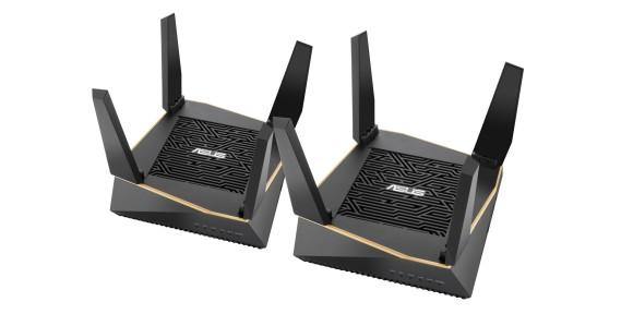 ASUS AiMesh AX6100 Wi-Fi, un sistem cu două routere RT-AX92U