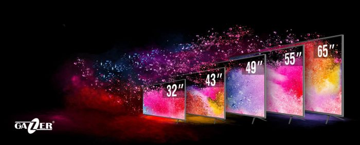 Televizoarele inteligente Gazer caracterizate de raportul calitate/preț atractiv