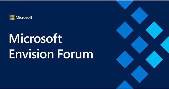 Inovație și transformare digitală la Microsoft Envision Forum