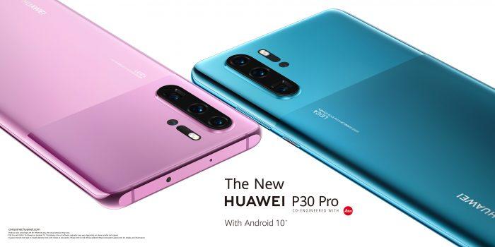 HUAWEI P30: estetica smartphone-ului prin design și culori moderne